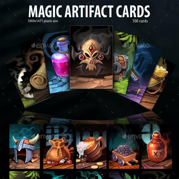 Magic Artifacts Cards