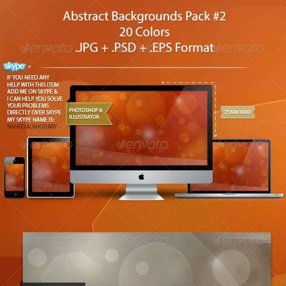 Abstract Backgrounds Pack 02