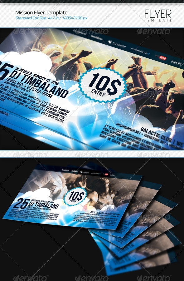 Mission Flyer Template - Flyers Print Templates