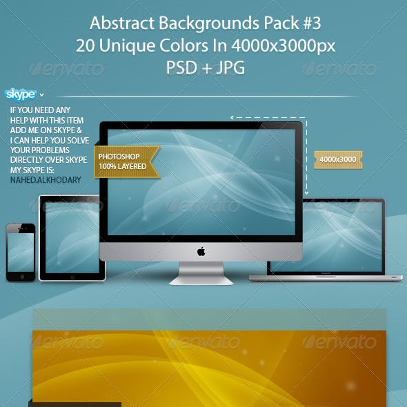 Abstract Backgrounds Pack 03