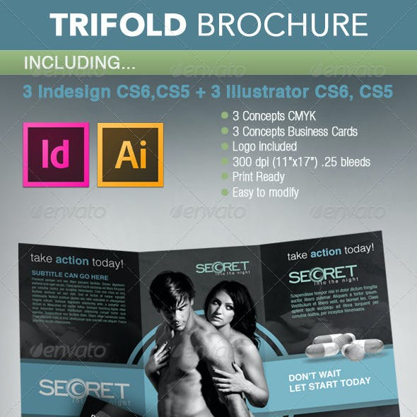 Product Trifold Brochure