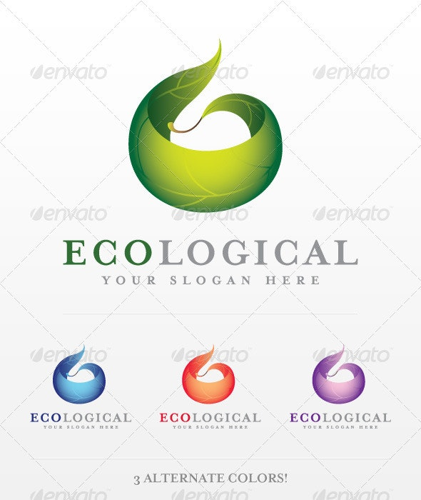 Ecological Logo - Nature Logo Templates