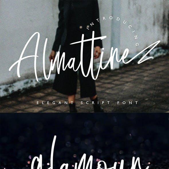 Almattine - Elegant Script Font