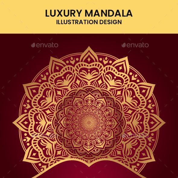 Luxury Mandala Background Design