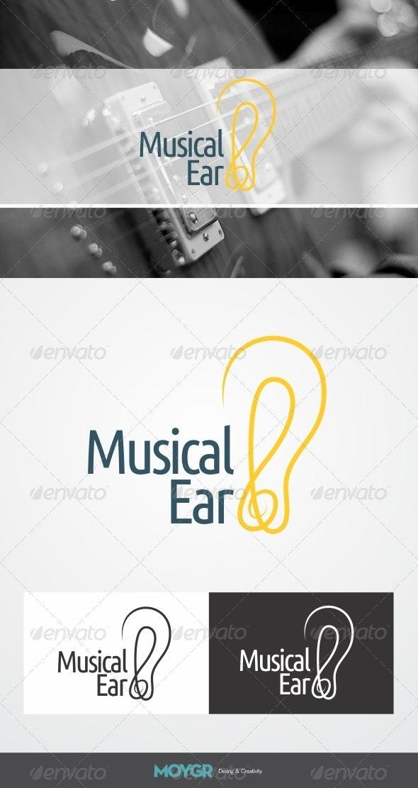 Musical Ear - Logo - Symbols Logo Templates