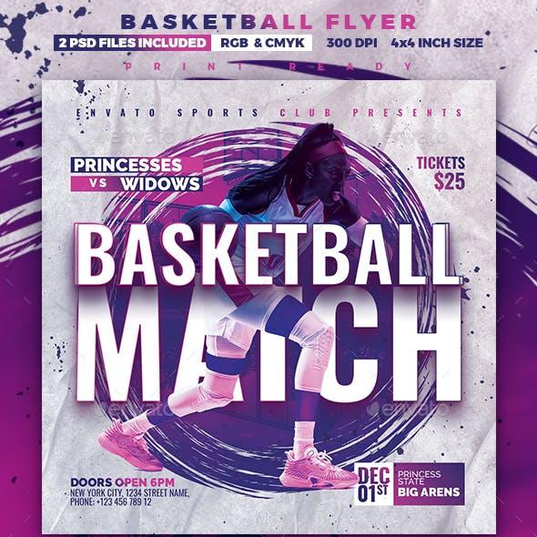 Basketball Match | Sport Flyer