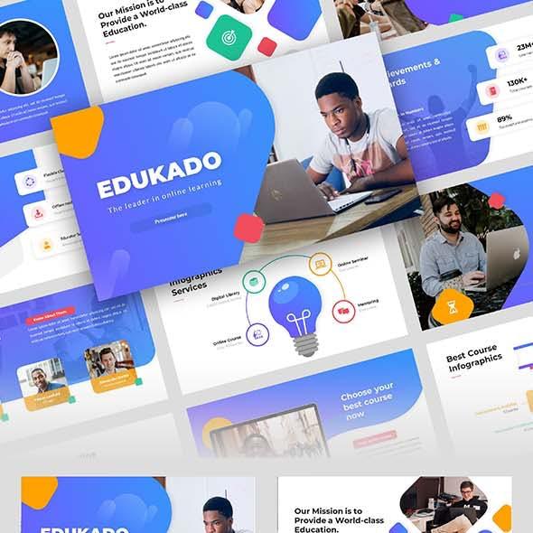 EDUCADO – Education Course Keynote Template