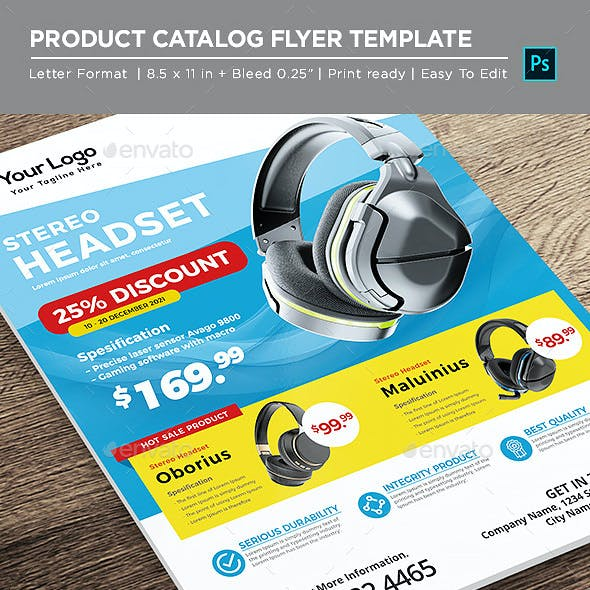 Electronic Catalog Product Flyer