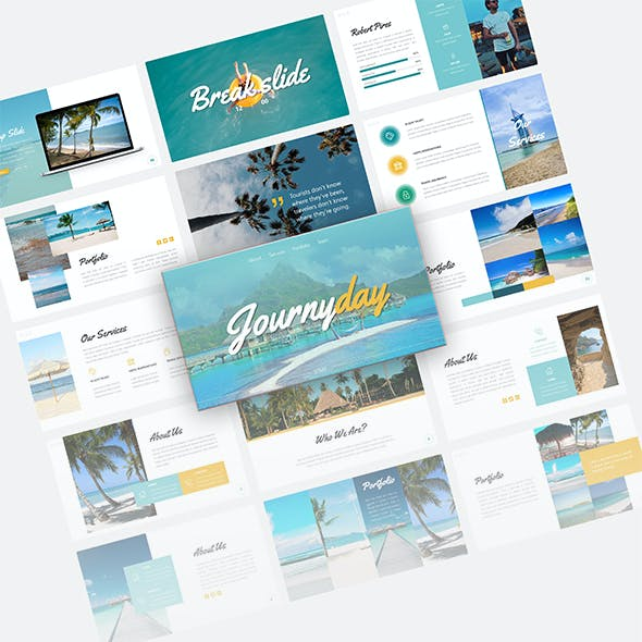 Journyday Traveling Presentation Template