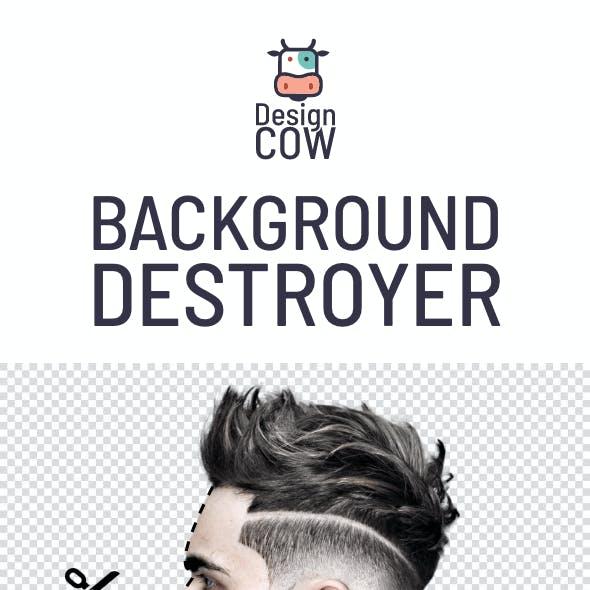 Design Cow - Background Destroyer