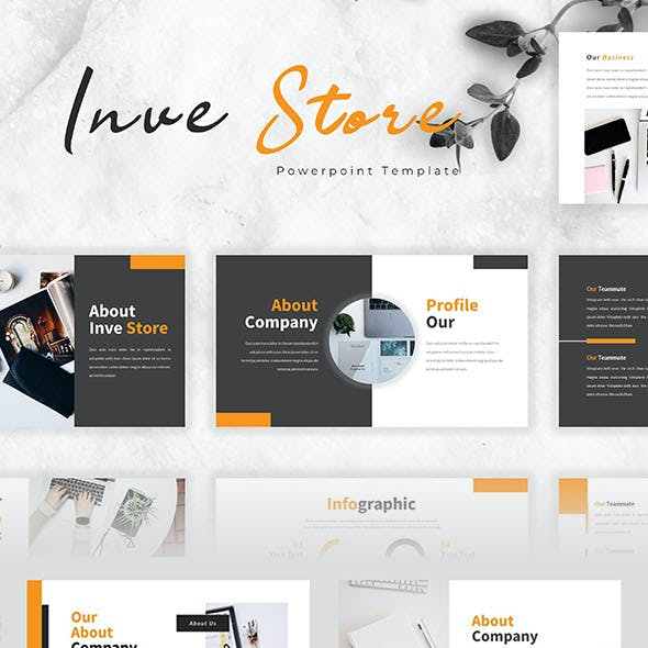 Investore – Business PowerPoint Template