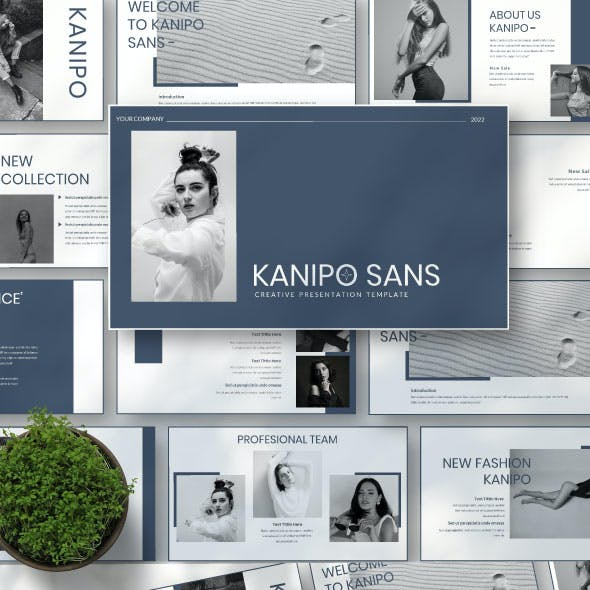 Kanipo sans Powerpoint Template