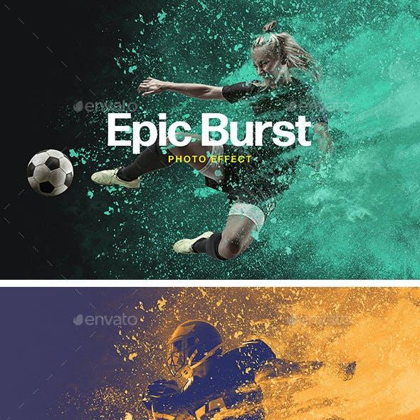 Epic Burst Photo Effect