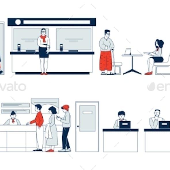 Bank Clients Service