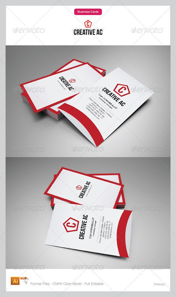 Corporate Business Cards 61-2 - Corporate Business Cards