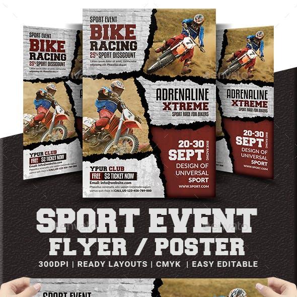 Sport Event Flyer / Poster Templates