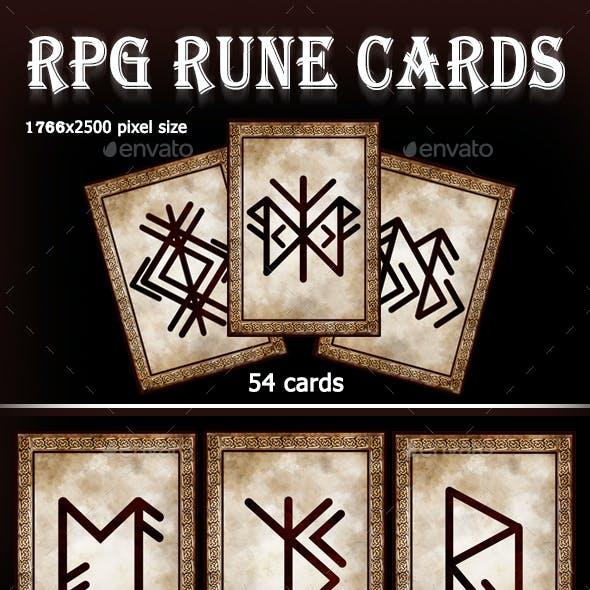 RPG Rune Cards