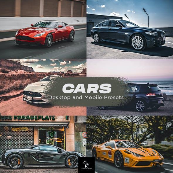 6 Cars Lightroom Presets