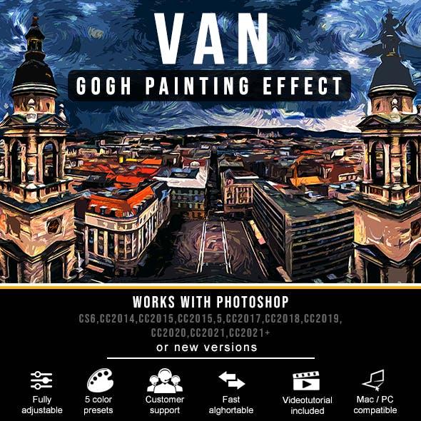 Van Gogh Painting Effect