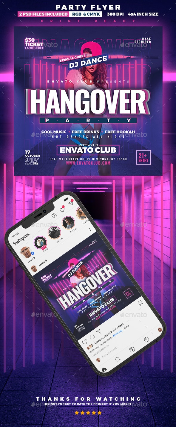 Special Party   DJ Flyer - Clubs & Parties Events