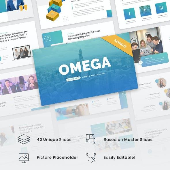 Omega - Corporate Business Keynote Template