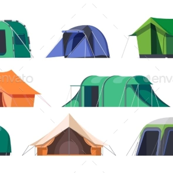 Camp Tents and Campsite Shelters Camping Travel