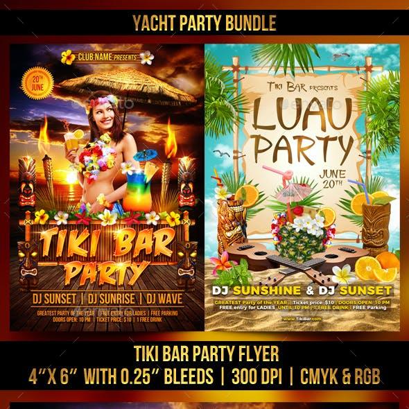 Luau and Tiki Bundle