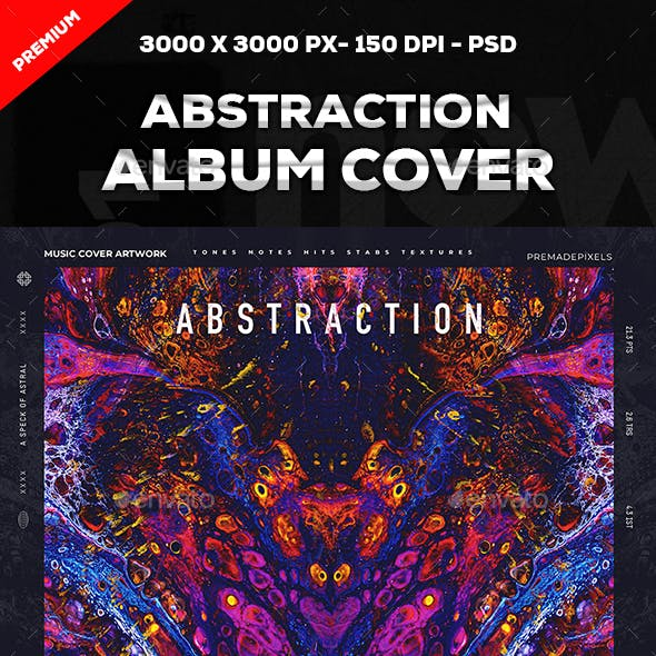 Abstraction Music Cover Artwork
