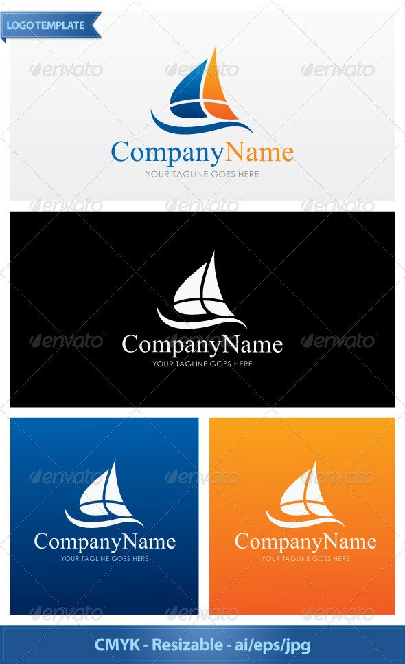 Sailing - Objects Logo Templates