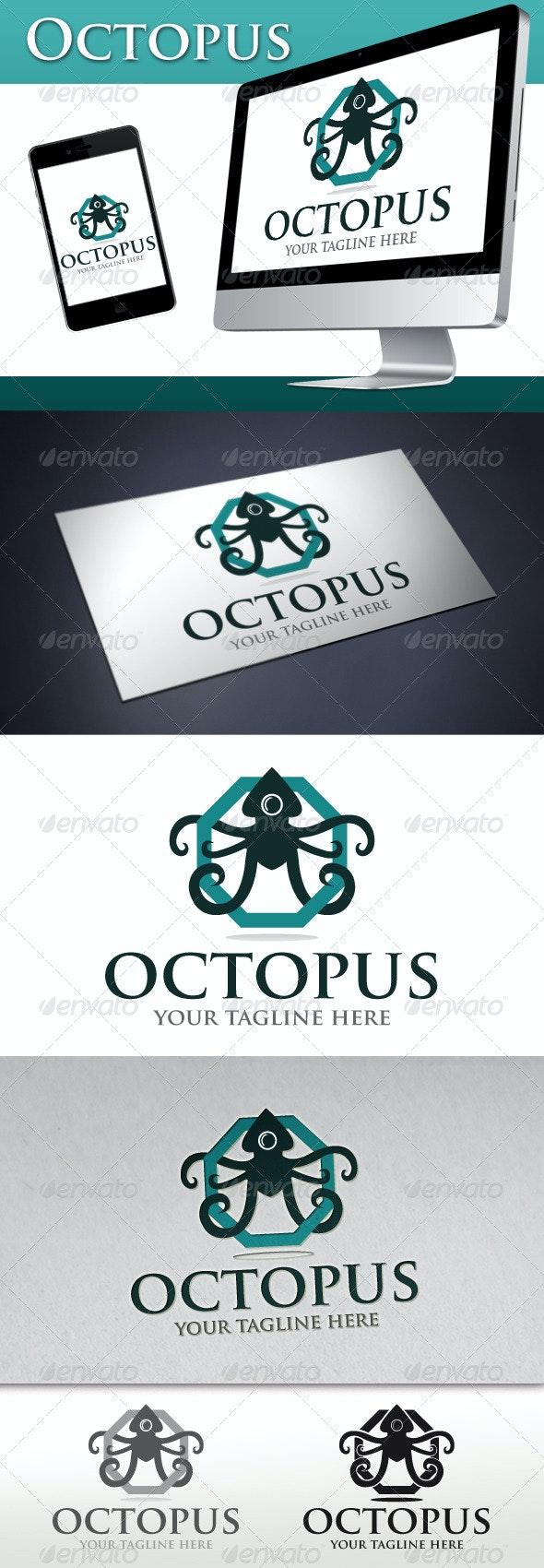 Octopus Logo - Animals Logo Templates