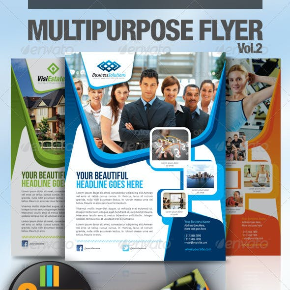 Multipurpose Business Flyer Vol.2