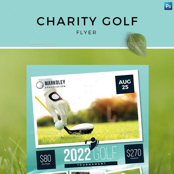 Charity Golf Flyer