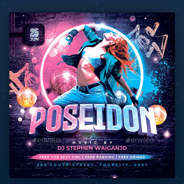 Poseidon Flyer Template