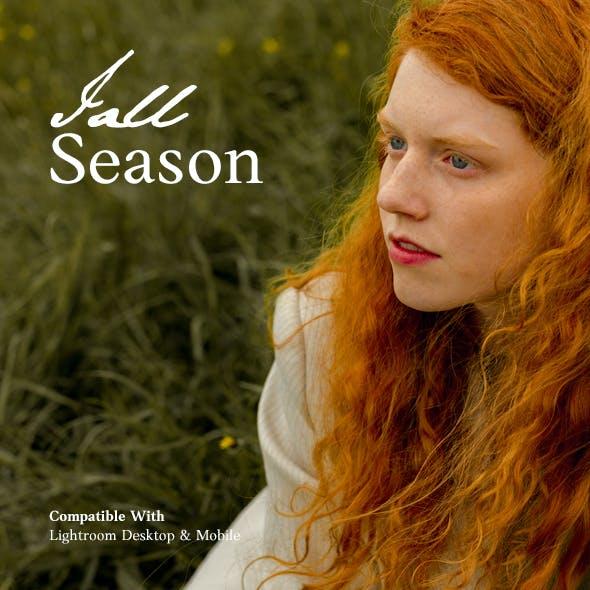 Fall Season Lightroom Presets Pack