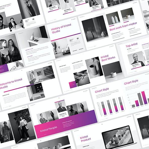 Kristal – Business Google Slides Template