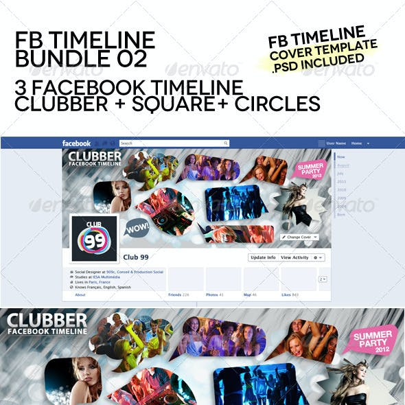 Facebook Timeline Bundle 02