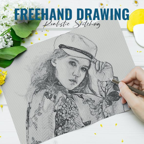 Freehand Drawing Sketch