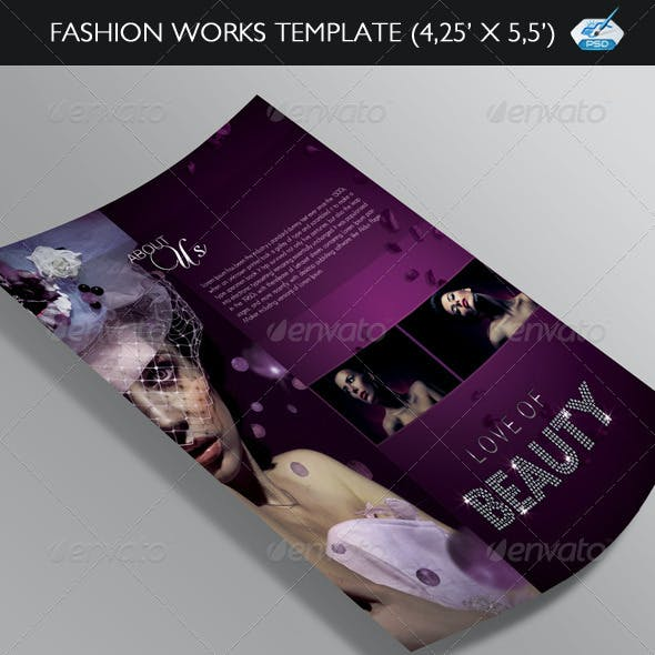 Fashion Works Flyer Template