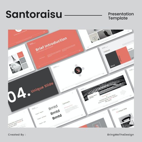 Santoraisu Keynote Template