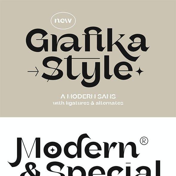 Grafika - Modern Sans