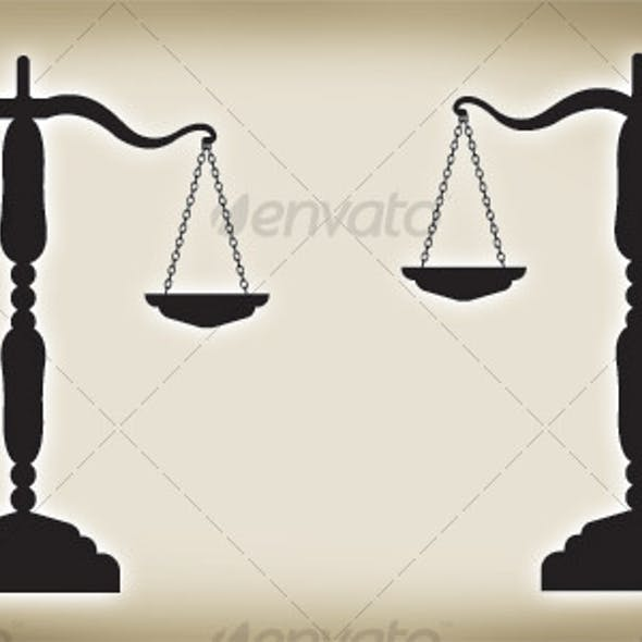Balance of Justice - VECTOR