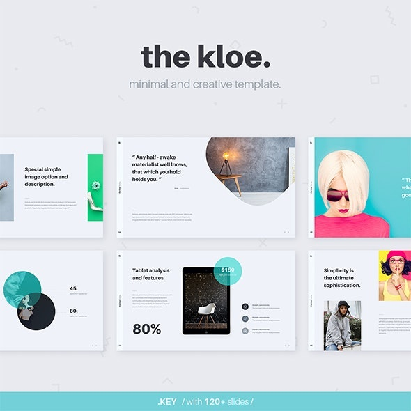 KLOE Minimal & Creative Template (Powerpoint) - Creative PowerPoint Templates