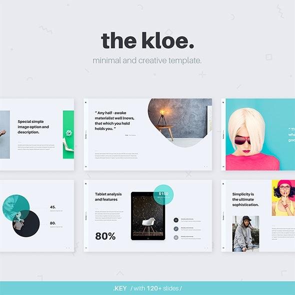 Kloe Google Slide Presentation Template - Google Slides Presentation Templates