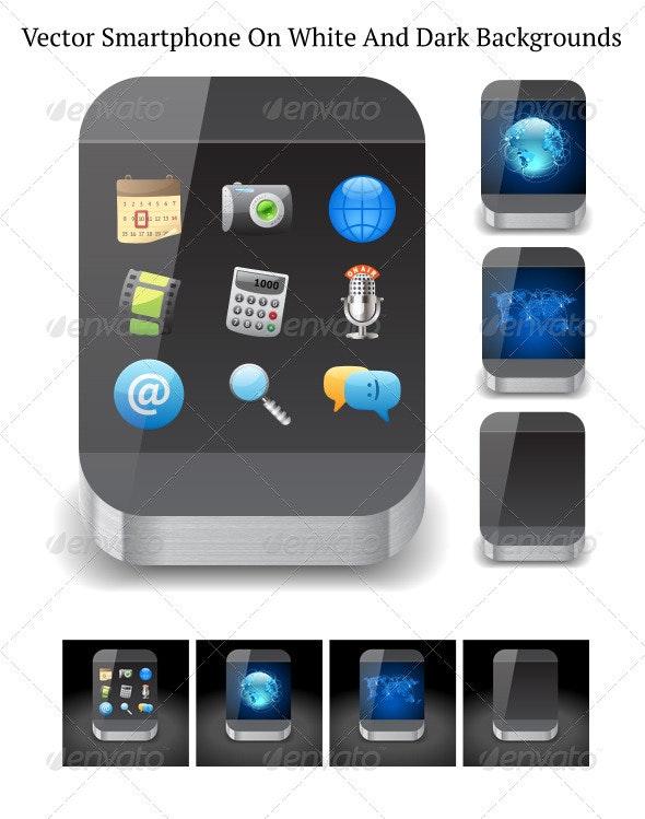 Vector Smartphone - Communications Technology