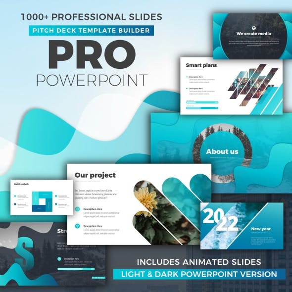 Infographics Business Pitch Deck