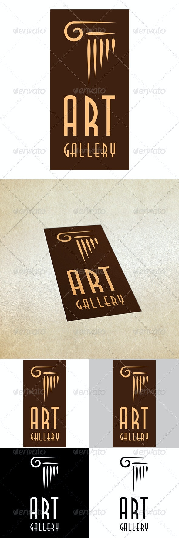 Art Gallery - Vector Abstract