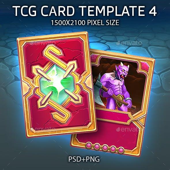 TCG CARD TEMPLATE 4