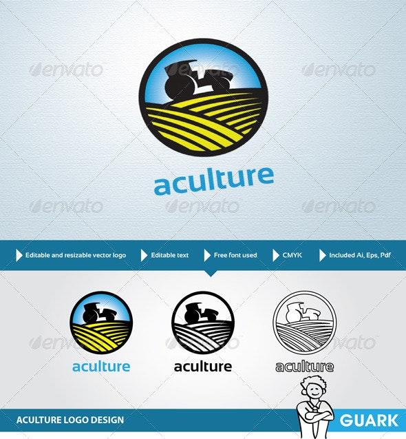 Aculture Logo - Nature Logo Templates