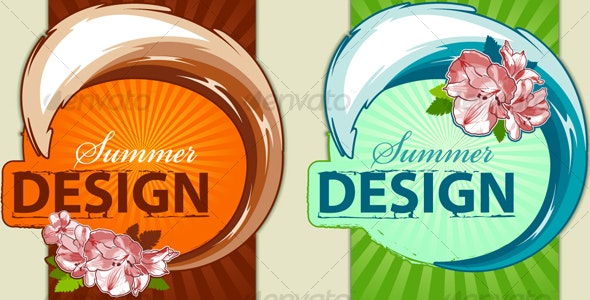 Fresh summer design - Seasons/Holidays Conceptual
