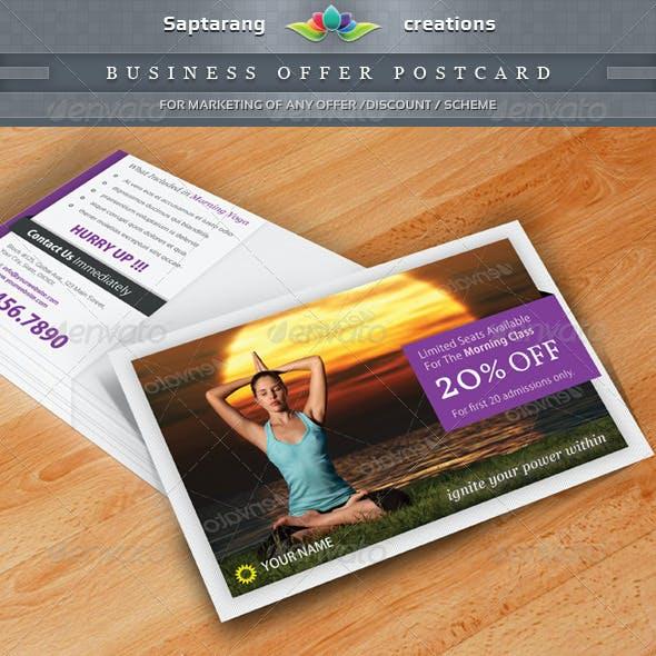 Business Offer Postcard